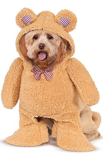 Walking Teddy Bear Pet Costume -
