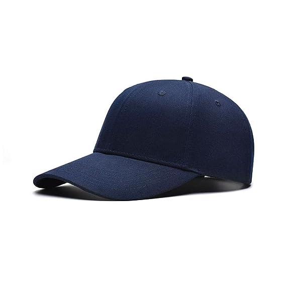 f82d40fe701 Huntsman Era Plain baseball caps for men   women   Sports cap   outdoor cap  (dark blue)  Amazon.in  Clothing   Accessories