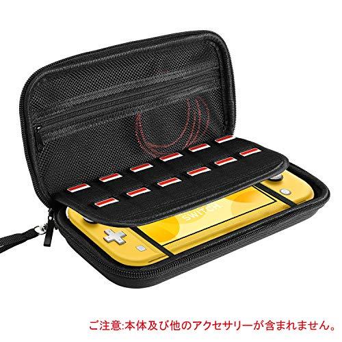 IVSO Nintendo Switch Lite 케이스 닌텐도 스위치 닌텐도 Lite 수납 가방 닌텐도 Switch Lite 대용량 파우치