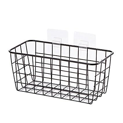 WINZSC Cesta de cocina cesta de escritorio cesta de baño pequeña ...
