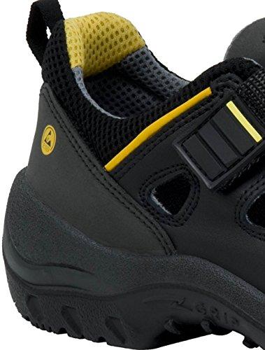 Ejendals 3108–40–Taglia 40JALAS 3108Monza Sandali da lavoro, colore: nero/grigio/giallo