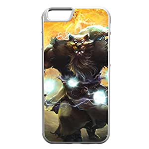 Udyr-002 League of Legends LoL case cover for Apple iPhone 6 - Rubber White