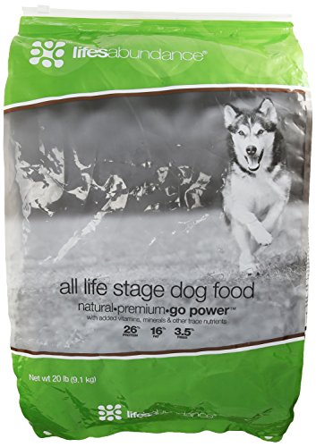Life's Abundance Premium Health Food for Dogs - 20lb Bag