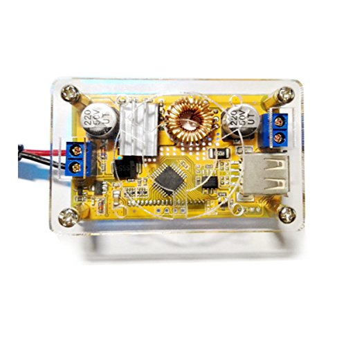 5A DC-DC Adjustable Step Down Power Supply Module Constant Voltage Current Dual LCD Display Screen - Arduino Compatible SCM & DIY Kits by Davitu Module Board (Image #2)