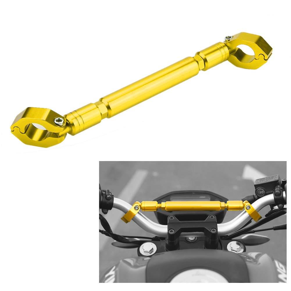 Universal 22mm Aluminium Alloy Cross Bar Lenker Motorrad Verst/ärken Hebel Zubeh/ör Motorrad Ausgleichsstange Motorrad Balance Bar Black