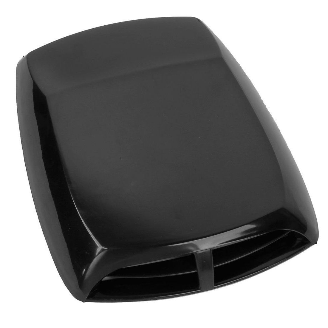 SODIAL Universal Car Air Flow Intake Scoop Turbo Bonnet Vent Cover Hood Black R Air Flow Vent Hood Scoop