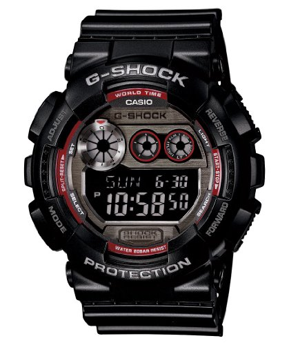 Casio G Shock Digital Stainless GD120TS 1