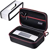 [SoundLink Mini Case + Soft Cover] Smatree Hard Travel Carrying Case with Black Soft Cover for Bose Soundlink Mini I and Mini II Bluetooth Speaker