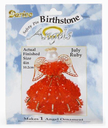 Birthstone Angel Ornament Bead Kit
