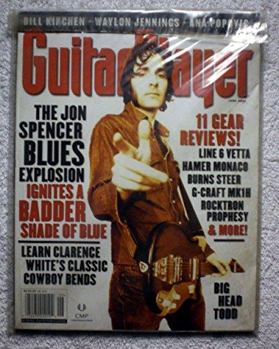 (Jon Spencer - Guitar Player Magazine - June 2002 - Waylon Jennings, Big Head Todd Articles)