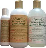 Tate's Natural Miracle Conditioner 16oz and Shampoo-18oz-/hypo-allergenic// Free 5oz Conditioner