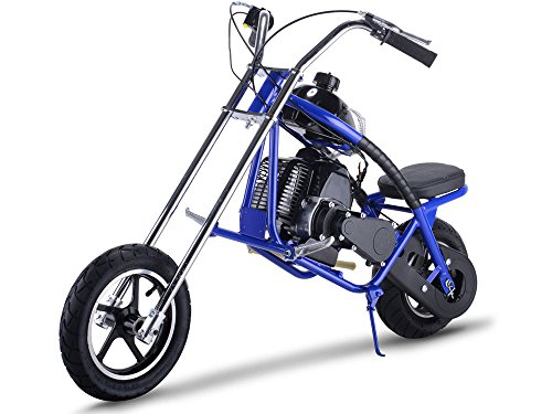 MotoTec Gas Mini Chopper 49cc Blue (Chopper 49cc)