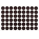 Home Office Self-adhesive Screw Covers Caps Stickers 21mm Dia 54 in 1
