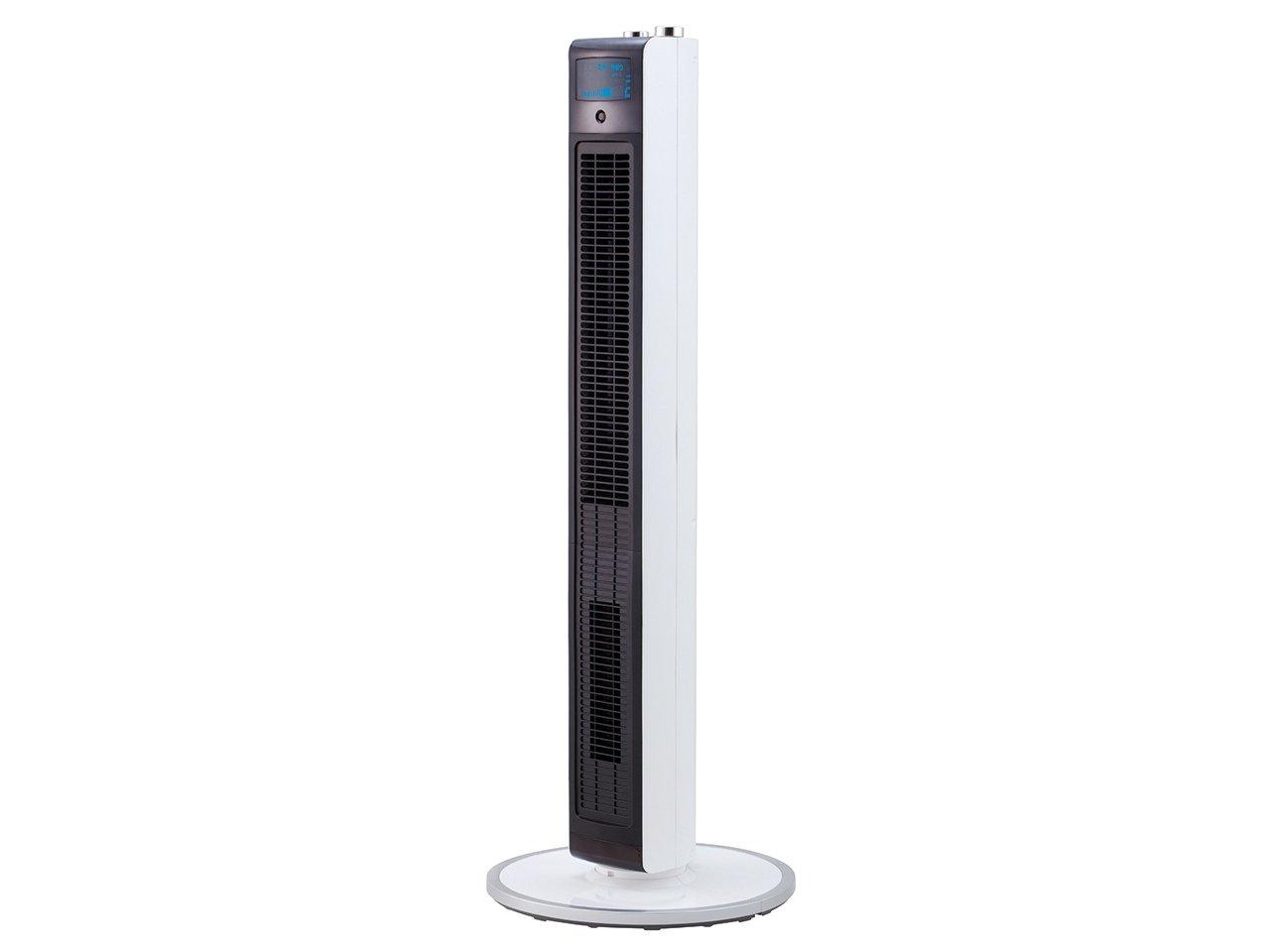 コイズミ 扇風機 ホット&クール ハイタワーファン ホワイト KHF-1281/W   B07BK7XJN7