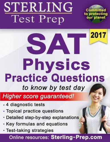 Sterling Test Prep SAT Physics Practice Questions: High Yiel