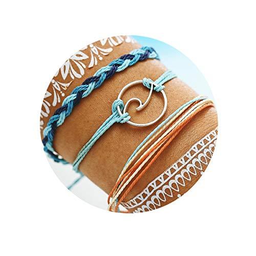 17mile Wave Braided Rope Bracele...