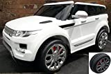 2017 model Kids Range Rover HSE Sport Style 12v Electric / Battery Ride on Car Jeep - White