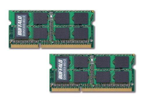 BUFFALO-portable-PC-expansion-memory-PC3-10600-DDR3-1333-4GB2-sheet-set-D3N1333-4GX2E