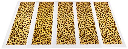 Lucks Designer Prints, Haute Girls Glamour Girl Leopard, 2-1/4 X 10 Inch, 36 - Haute Kids