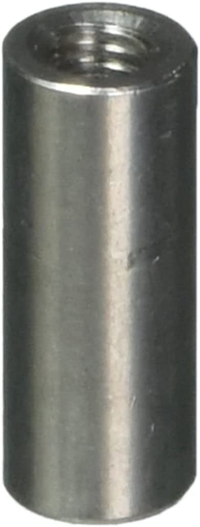 5 5PACK STAINLESS STEEL THREADED RODS 13 CMS INC THREE NUTS  M8 METRIC COURSE 1