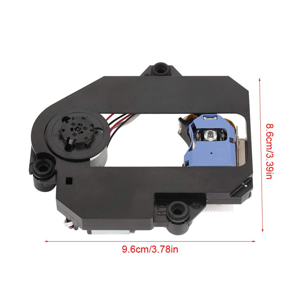 Optical Pick-Up Laser Lens Mechanism, Walfront KHM-313AAA Optical Pick-Up Laser Lens Mechanism Optical Drive Replacement Parts (Black) by Wal front (Image #2)