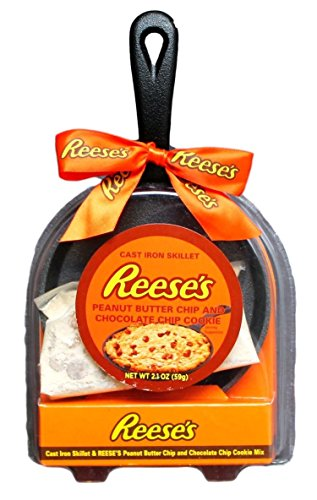 Cast Iron Skillet Reese S Peanut Butter Chip And Chocolate
