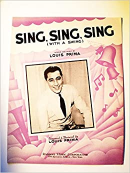 1445 Sing Sing Sing With A Swing Words And Music By