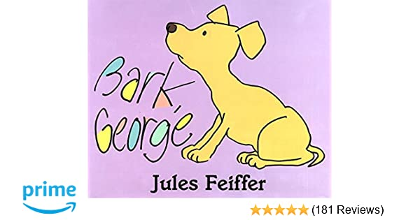 Bark george jules feiffer 9780062051851 amazon books fandeluxe Image collections