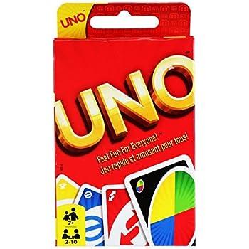 Amazon.com: UNO Card Game: Toys & Games