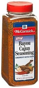 McCormick Cajun Bayou (no Msg) Seasoning, 21-Ounce Units (Pack of 2)