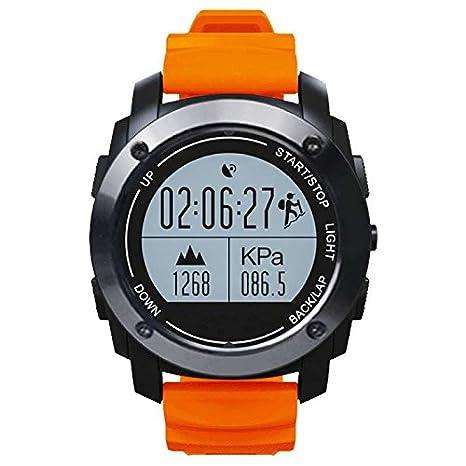 Smartwatch Relojes Deportivo Teléfonos Inteligentes Reloj Deporte, Monitor de Ritmo Cardíaco, Sueño,Calorías, Podómetro Actividad y Ritmo cardiaco Unisex ...
