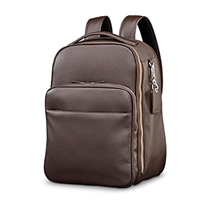 8f142ef6898f Samsonite Mens Leather Classic Traditional Backpack 85%OFF ...