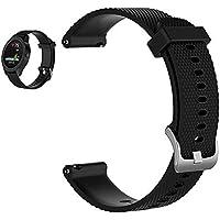 Bemodst Riem voor Garmin Vivoactive 3 Horloge, Siliconen Vervanging Smartwatch Polsband Armband Fitness Sport…