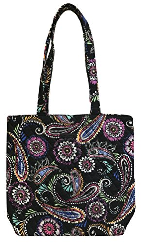 Version nomadic Color Bandana With Interior Tote Floral Solid Bradley updated Vera Swirl ZH0qFF