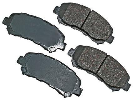 Akebono ACT1338 ProACT Ultra-Premium Ceramic Brake Pad Set