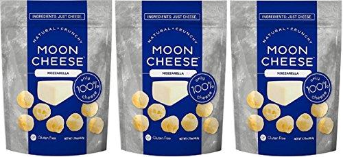 Moon Cheese Mozzarella, 1.75 ounce Bags (3 Pack)