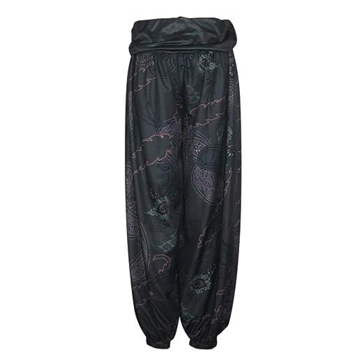 Amazon.com: Winsummer Yoga Harem Pants for Women Boho Yoga ...