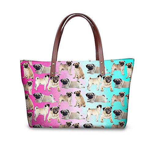 Wallets Purse Top Bags Satchel FancyPrint Handle W8ccc1961al Stylish Foldable Women Handbags qHtwxR7a