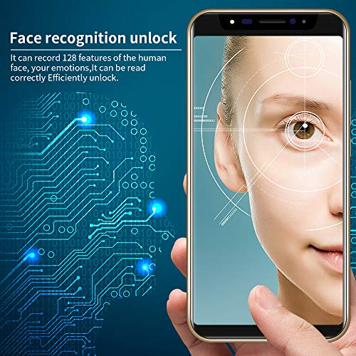 Unlocked Dual HD Camera Smartphone, 5.8 inch Android 4GB Dual SIM 3G WiFi Touch Screen Mobile Cell Phone (Sliver) by Aritone (Image #5)