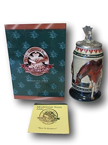 Anheuser-Busch Collectors Club Membership Stein , Born to Greatness 2000 CB-14 ()