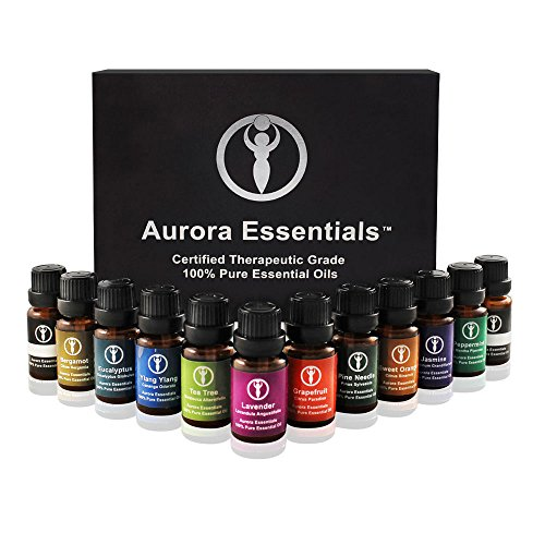 Aromatherapy Essential Oils 100%PURE Top 10 Gift Set Box. Kid Safe Pack. Boost Immunity, Health, Calming Sleep & Energy. Get Relief from Arthritis, Anxiety & Stress. High Quality (Relax Pack Gift Set)