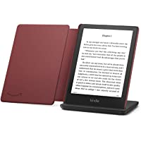 $239 » Kindle Paperwhite Signature Edition Essentials Bundle including Kindle Paperwhite Signature Edition - Wifi, Without Ads, Amazon Leather…