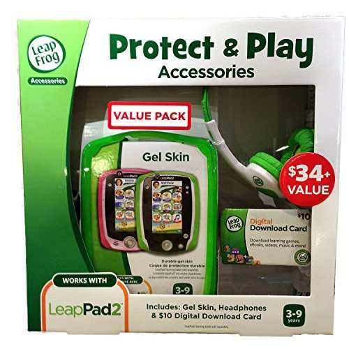 LeapFrog Green Protect & Play Accessories Value Pack for LeapPad2 by LeapFrog (Image #1)