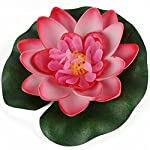Bluelans-Floating-Pond-Decor-Water-Lily-Lotus-Foam-Flower-10cm4-Set-of-8