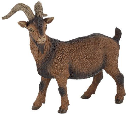 Papo Farmyard Friend Figure, Brown Billy Goat