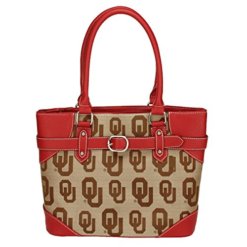 Oklahoma Sooners Purse - NCAA Oklahoma Sooners Liberty Academic Handbag, Small