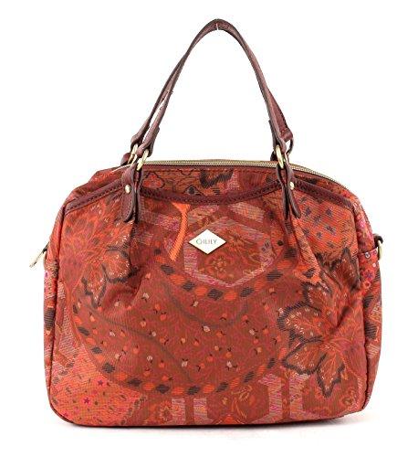 Oilily - S, sac à poignée femme brune (cannelle)