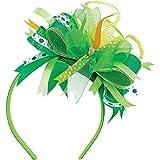Amscan St. Patrick's Day Green Satin Ribbon Headband | Party Accessory