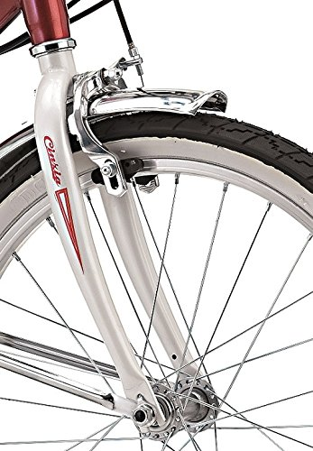 Adulto Cicli Cinzia Bicicletta 20 Pieghevole Firenze 6//V Revo Shift V-Brake Alluminio Rosso//Bianco Unisex