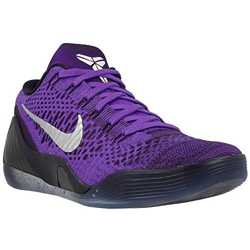 Nike Men's Kobe IX Elite Low, HYPER GRAPE/WHITE-CAVE PURPLE, 10.5 M US (Kobe Grape compare prices)